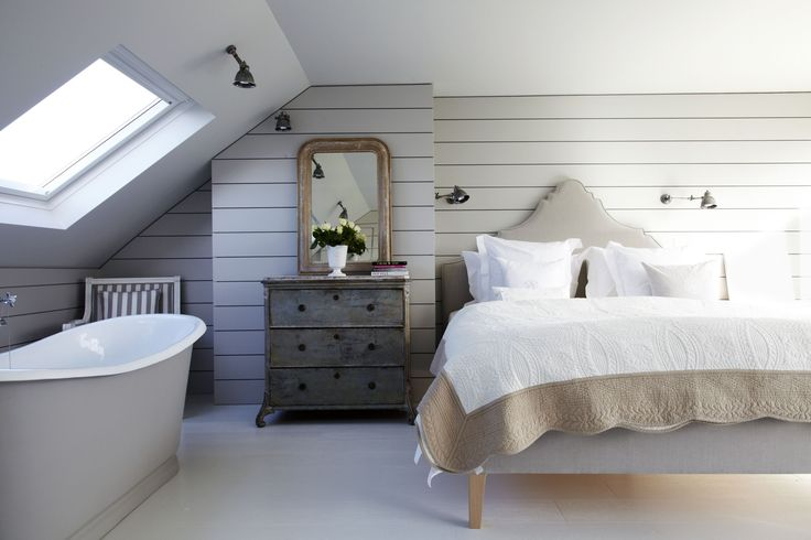 Inspired Loft Conversion With Bath In Bedroom (image From Shoot) Bath In  Bedroom Extension Master Bedroom