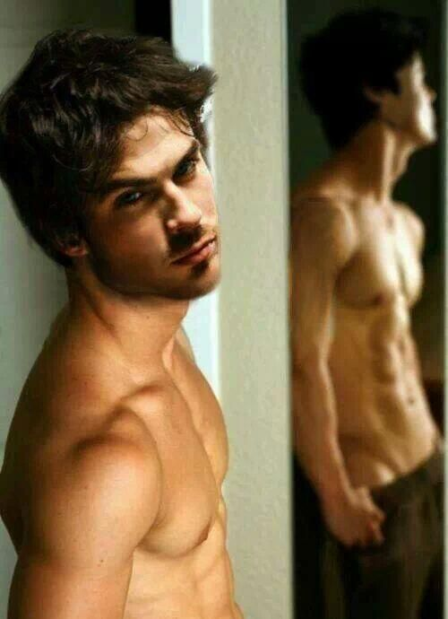 Ian Somerhalder.... oh.... my...... gawwddd...... He just melts my butter...