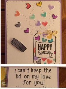 diy birthday cards for boyfriend - Google Search