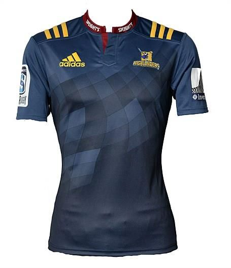 Highlanders 2016 Super 15 Rugby jumper