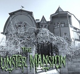 "The ""Munster Mansion"" in Waxahachie Texas...gotta see this if you're a Munsters fan."