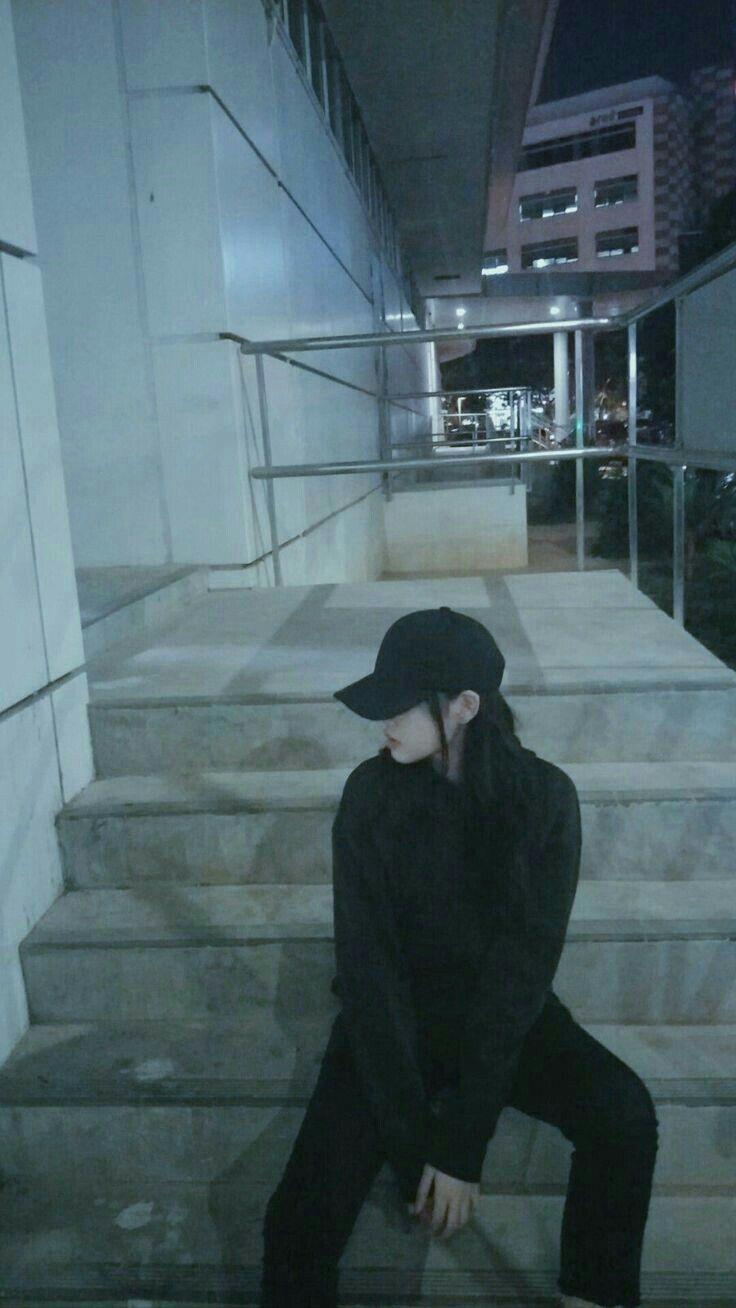 Stair girl swag