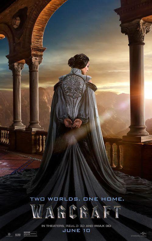 WARCRAFT movie poster No.15 (Lady Taria)
