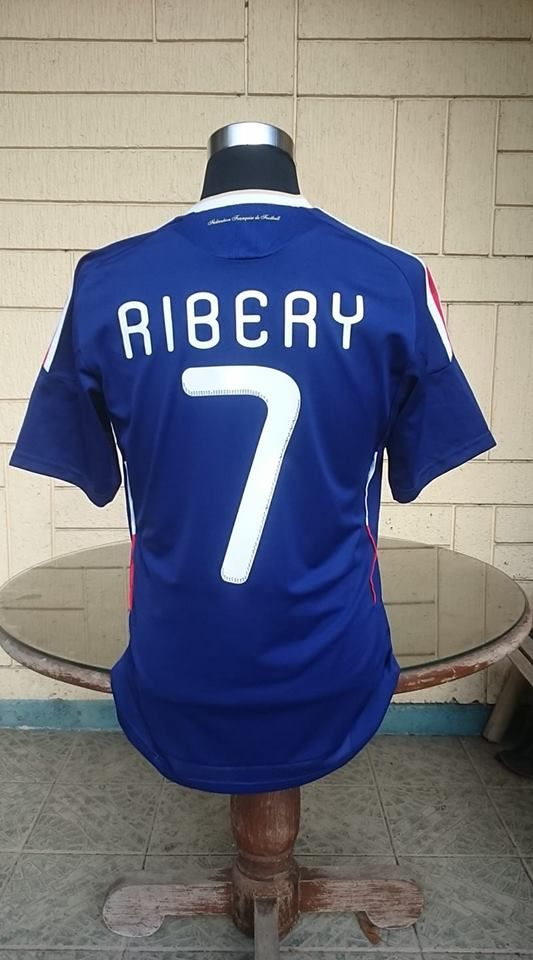 meet 1bc3b 5bc0a FRANCE 2010 WORLD CUP SOUTH AFRICA FRANK RIBERY 7 JERSEY ...