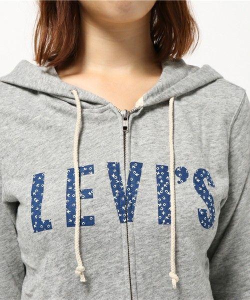 Levi's(リーバイス)の「ジップアップ フーディー/フルジップパーカー(パーカー)」 詳細画像