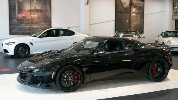 2020 Lotus Evora Gt Black Car Pictures Lotus Black Image