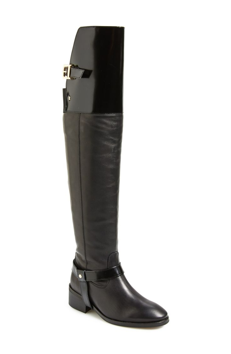 Crushing on this sleek Topshop over the knee riding boot.