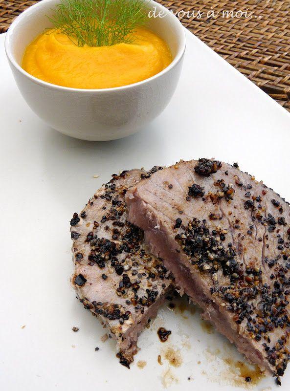 65 best recette de poisson images on pinterest seafood cooker recipes and fish - Recette steak de thon grille ...