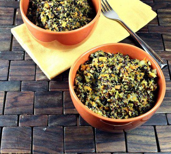detoxifying veggie quinoa pilaf