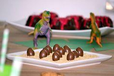 Dinoeier für den Dino Geburtstag
