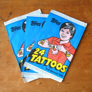 Temporary Tattoo Trio, $11, now featured on Fab.