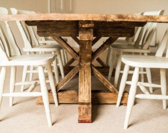 The LEA Dining Table Reclaimed Pecan Wood Dining By Hautehabitats Part 97