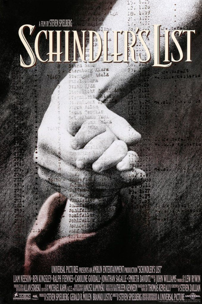 [link] Schindler's List is a 1993 American epic historical period drama film directed and co-produced by Steven Spielberg and scripted by Steven Zaillian. It is based on the novel Schindler's Ark by Australian novelist Thomas Keneally. https://en.wikipedia.org/wiki/Schindler%27s_List