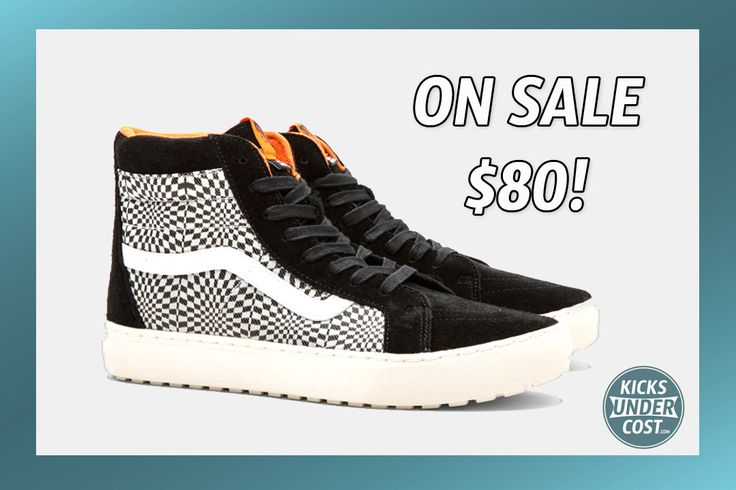 """The Vans x Undercover """"Checkerboard"""" SK8 Hi on sale 25% off!"""