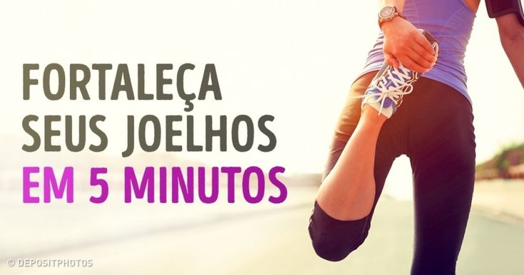 Exercícios práticos para aliviar ador nos joelhos