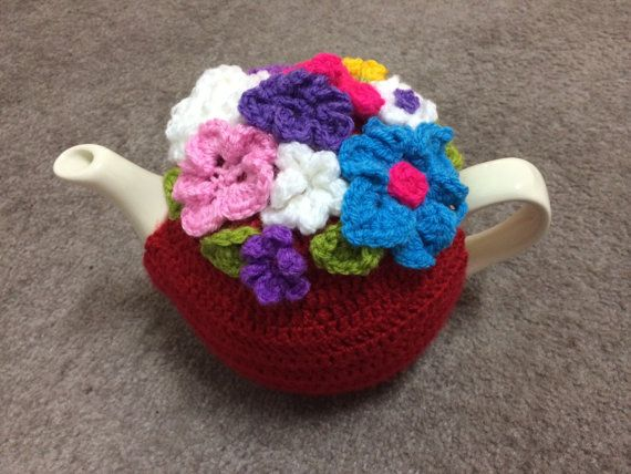 Crochet Tea cosy for a medium or large door SpecialHandmade482