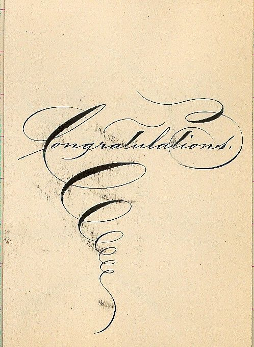 ✍ Sensual Calligraphy Scripts ✍ initials, typography styles and calligraphic art - Francis B. Courtney  Scrapbook