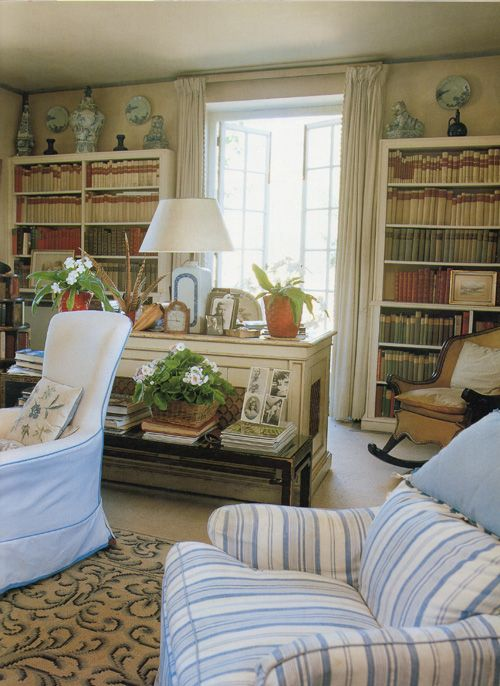 ... The Late, Legendary English Country House Interior Designer. The  Library Was Created From An Orangery, An Outbuilding Next To The Coach House  In Which ... Part 25