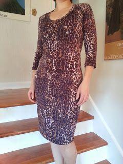 Family Buzz: Jalie 2566: Modify for medium and long dress