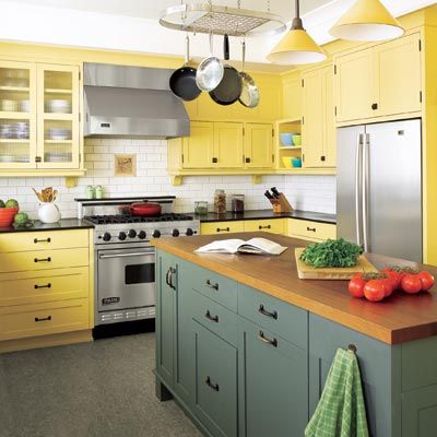 56 best kitchen paint wallpaper ideas images on for Dark orange kitchen