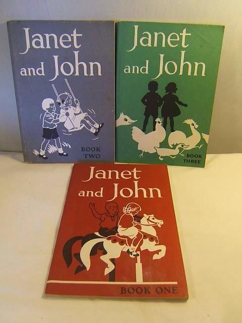 Janet and John - you progressed to these after peter and jane use to love these when i was little