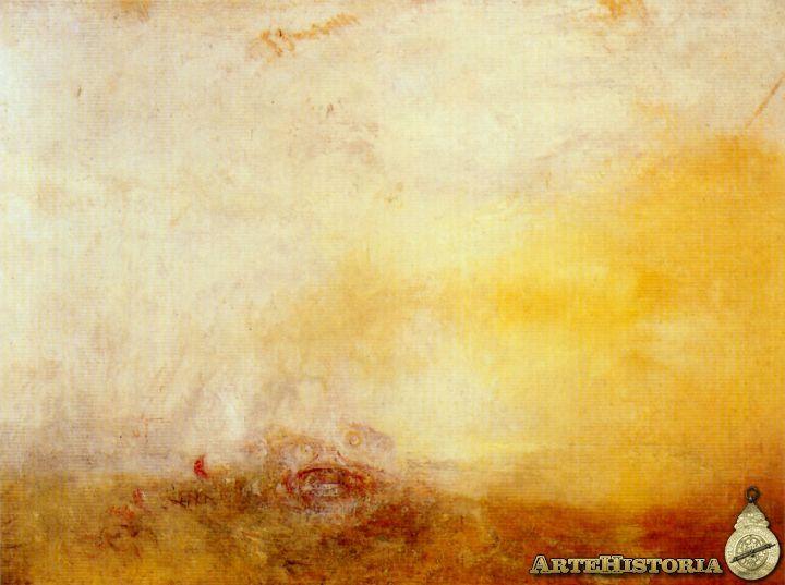 Amanecer con monstruos marinos - Obra - ARTEHISTORIA V2