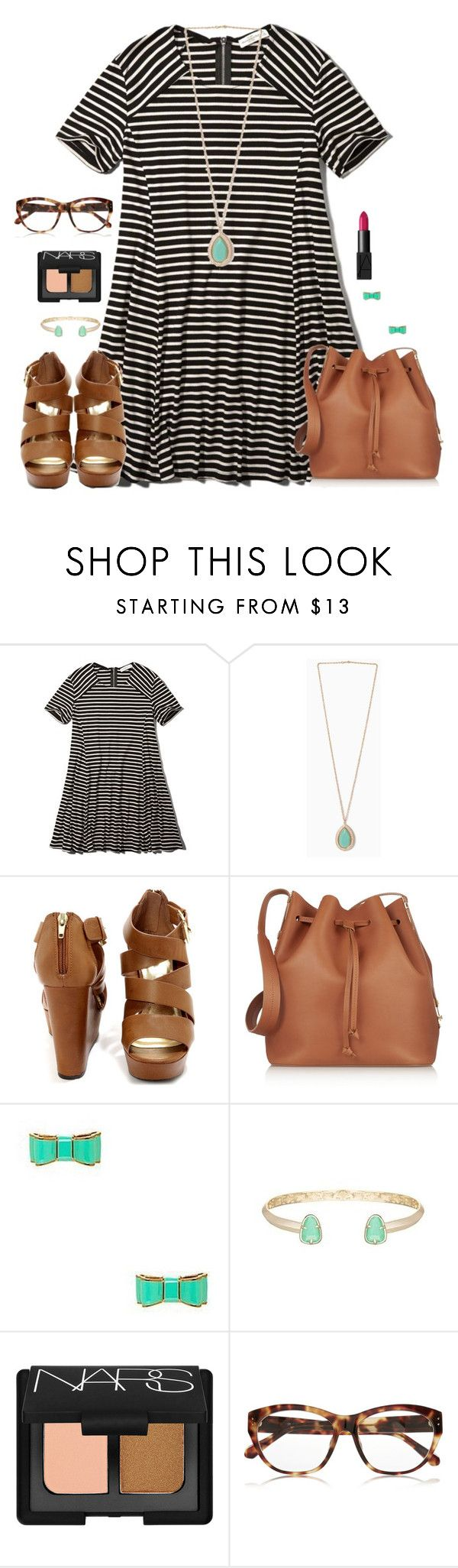 """""""""""Who are you to judge the life I life? I'm not perfect, and I don't have to be! Before you start pointing your fingers, make sure your hands are clean."""" -Bob Marley"""" by kaley-ii ❤ liked on Polyvore featuring Abercrombie & Fitch, Sophie Hulme, Kate Spade, Kendra Scott, NARS Cosmetics and Linda Farrow"""