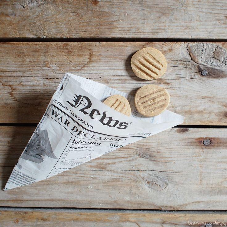 Kořeněné máslové sušenky
