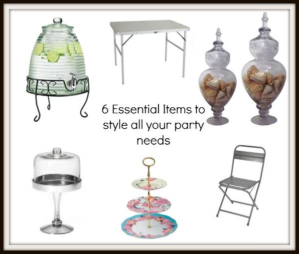6 Essential Investment Pieces to Make Every Party a Breeze  #party #supplies #partyessentials #decor #birthday