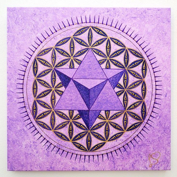 The Merkaba in The Flower of Life - Art of Sacred Geometry