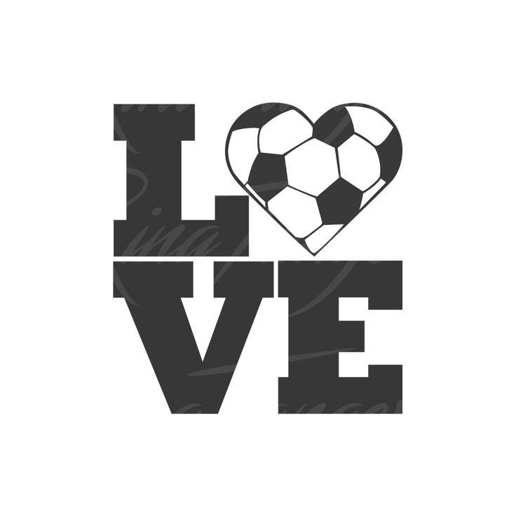 Download Love soccer svg heart svg soccer SVG love svg Png Dxf ...