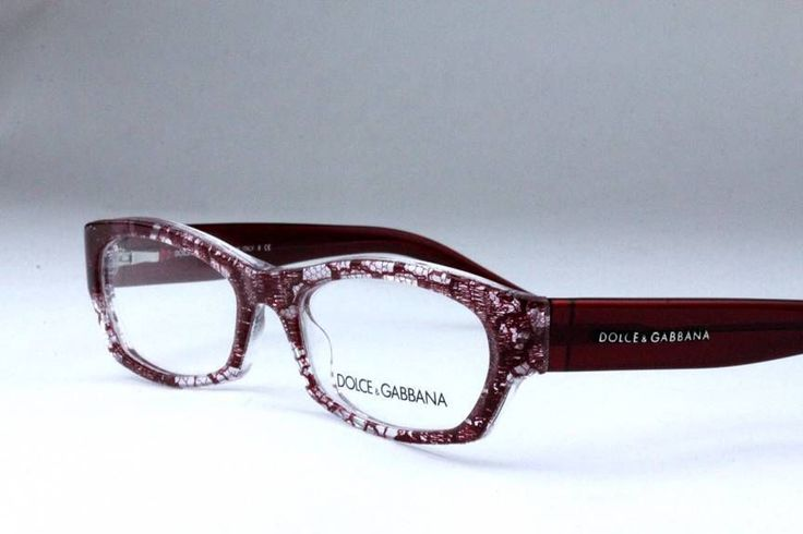 New D&G By Dolce & Gabbana DG 3115 Eyeglasses Frames Red Lace 1897 53mm #DolceGabbana