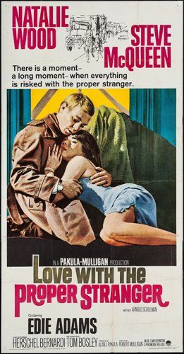 Movie Posters:Romance, Love with the Proper Stranger (Paramount, 1964). Three…