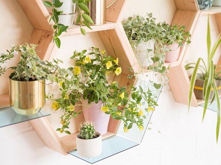 DIY-Anleitung: Dekoratives Pflanzenregal selber bauen via DaWanda.com