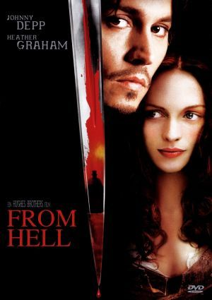 *FROM HELL ~an awesome movie about Jack the Ripper ~ Johnny Depp, Robbie Coltrane