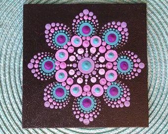 peinture de Dot Mandala 5 x 5