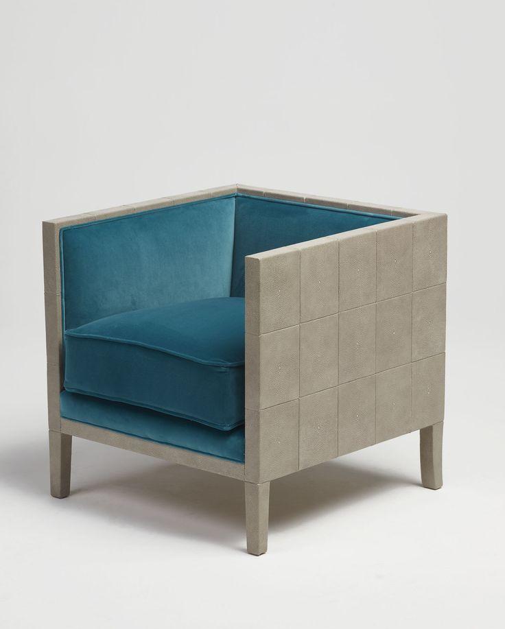Forli | | Stingray leather and velvet   #mapswonders #lighting #furniture #interiordesigner #vintage #luxurydesign