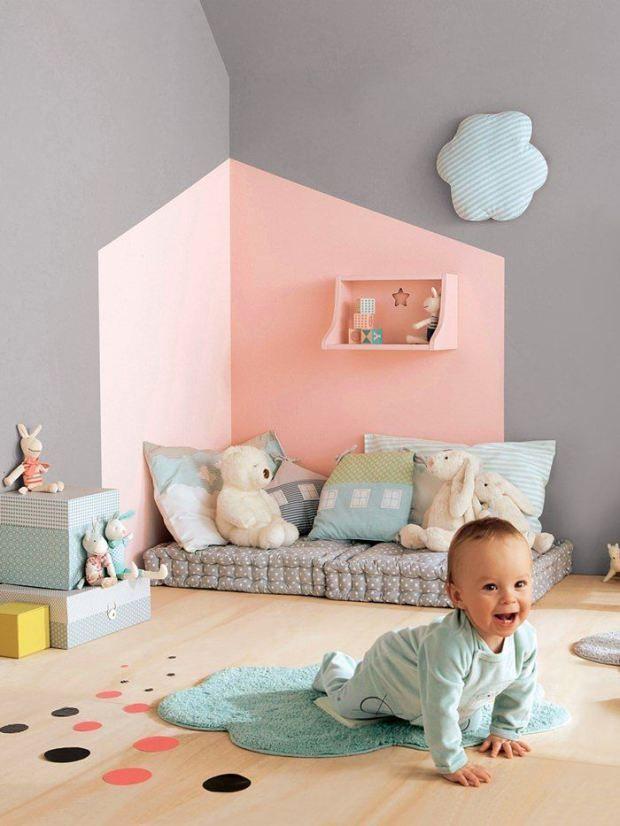 20 habitaciones de beb de estilo n rdico que te for Habitacion infantil estilo nordico
