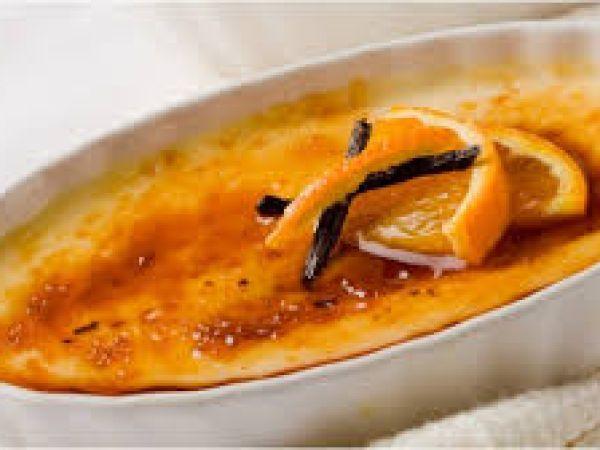 Receta Postre : Crema de naranja por CooQus