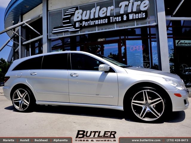 Mercedes R-Class with 22in Euro MB8 Wheels by Butler Tires and Wheels in Atlanta GA