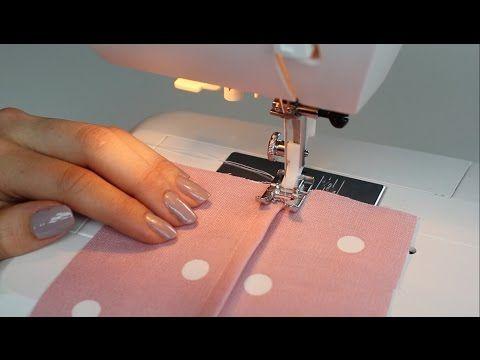 (20) Basic Stitches - How to sew a Flat Felled Seam - YouTube