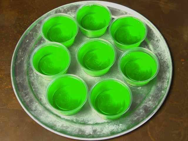 In this video learn how to make this classic, college drink: The Jello Shot, step-by-step.