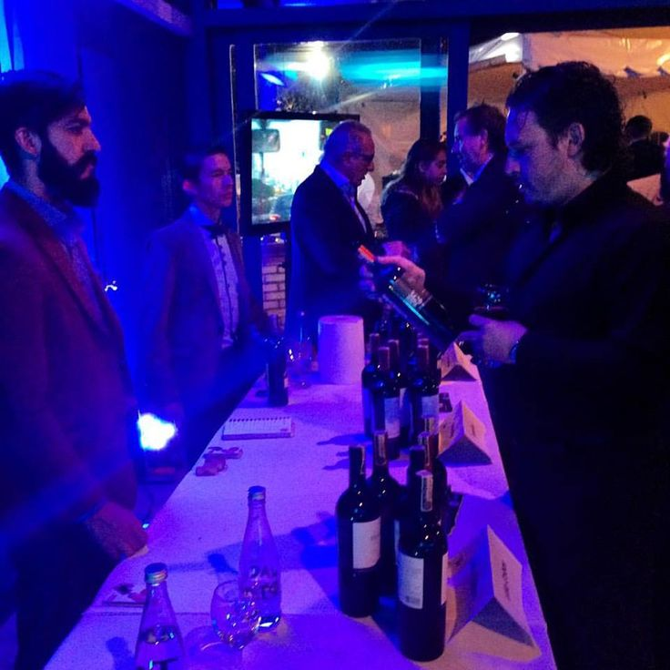 Celebrando ArtBo en la casa del embajador de Argentina con Viña Cobos, O.Fournier y Vistalba