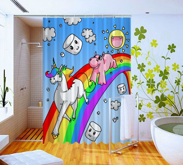 NEW Cartoon Unicorn Horse And Pig High Quality Custom Shower Curtain 60 x 72 #Unbranded #Modern #Unbranded #Modern #BestQuality #Cheap #Rare #New #Latest #Best #Seller #BestSelling #Cover #Accessories #Protector #Hot #BestSeller #2017 #Trending #Luxe #Fashion #Love #ShowerCurtain #Luxury #LimitedEdition #Bathroom #Cute #ShowerCurtain #CurtainGift