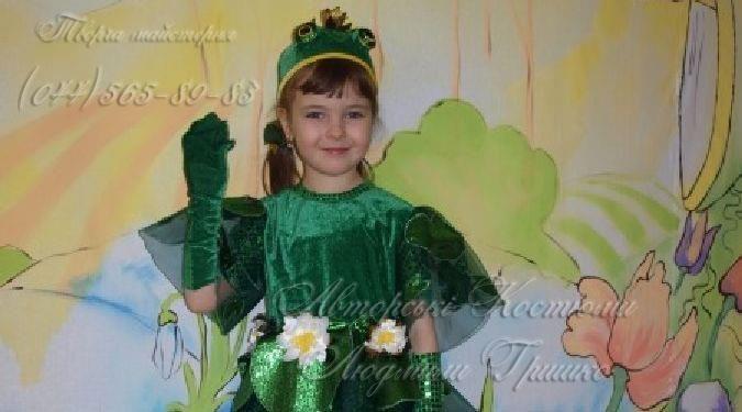 Как сделать костюм царевны лягушки