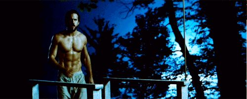 """Pin for Later: A Casual Reminder That Ryan Reynolds May Never Be Hotter Than He Is in The Amityville Horror """"I Love Long, Moonlit Strolls With Shirtless Men"""" Would Make a Great Tinder Bio, Now That We're Thinking About It"""