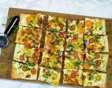 Må prøves: Hvit pizza er mye enklere