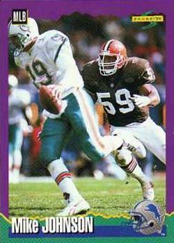 1994 Score #230 Mike Johnson - Detroit Lions.
