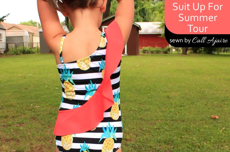 Designs by Call Ajaire Sash Swimsuit pattern tester call and the Suit Up For Summer blog tour!