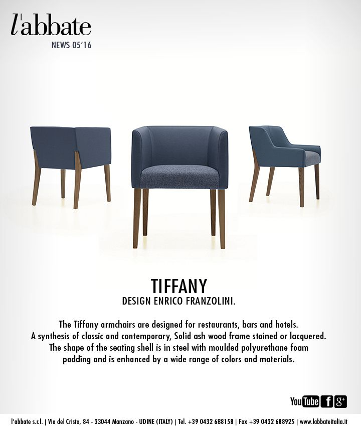 Tiffany | Design Enrico Franzolini. www.labbateitalia.it